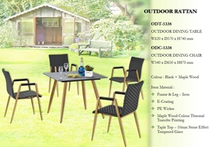 Picture of RECAFI OUTDOOR DINING TABLE (ODT-5338)
