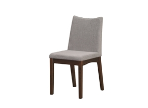 Picture of RECAFI DINING CHAIR WITH CUSHION SEAT (PM1558 8866-7E GREY) - CAPPUCCINO (DC-B7531F-CP)