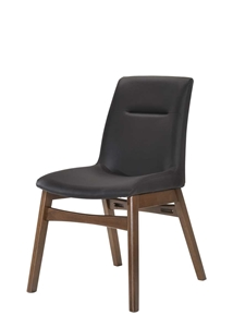 Picture of RECAFI DINING CHAIR WITH PVC BROWN - BROWN (DC-0096PVC-BRN)