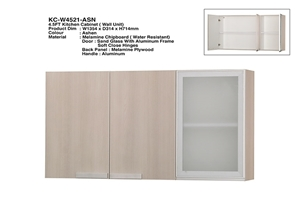 Picture of RECAFI 4.5FT KITCHEN CABINET (WALL UNIT) - ASHEN (KC-W4521-ASN)